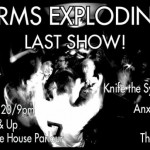 arms exploding last show